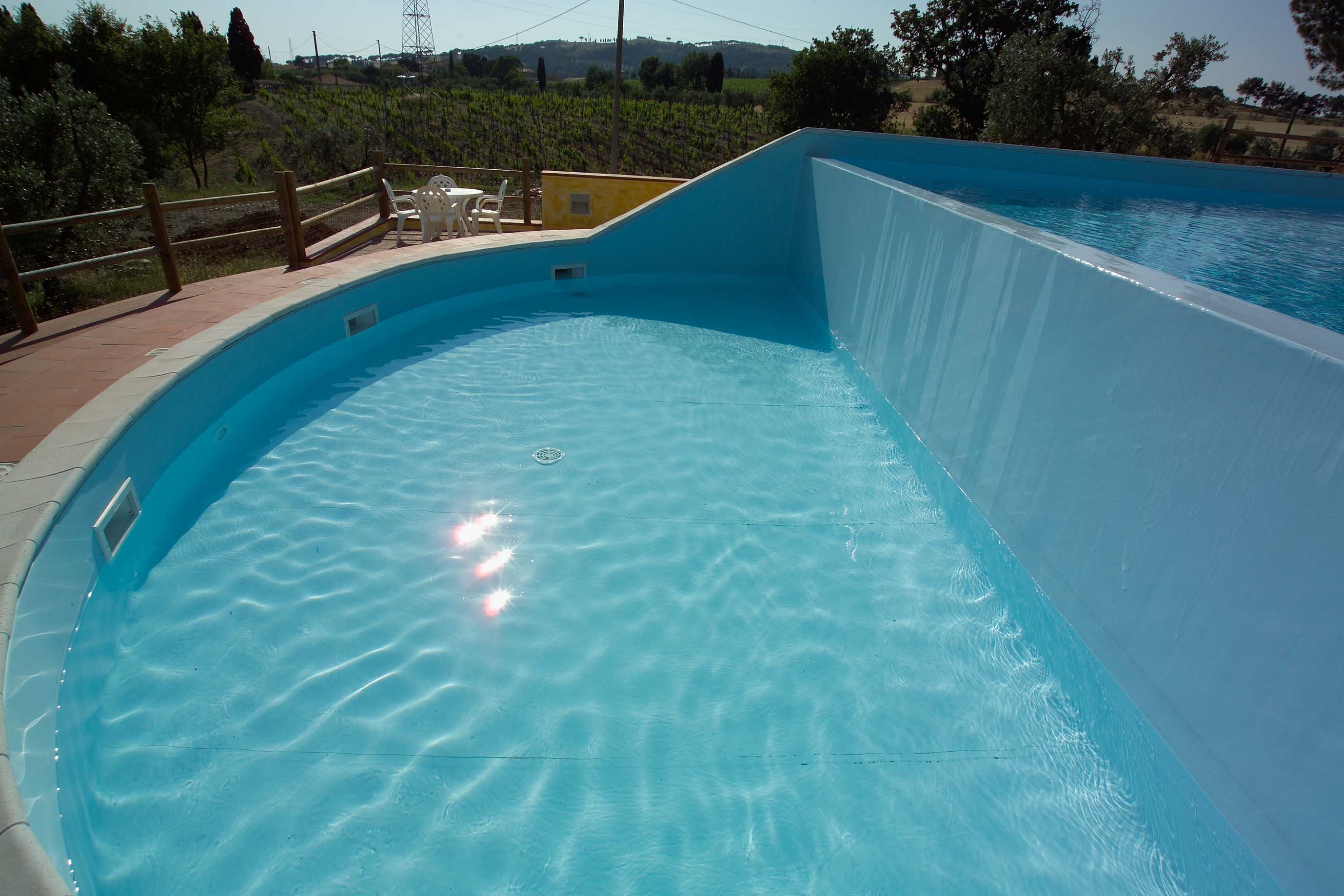 Vendita Piscine A Catania piscina su due livelli